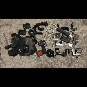*GIANT BUNDLE!* GoPro Hero4 Camera & Accessories
